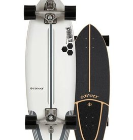 """Carver Carver 30.75"""" CI Flyer Surfskate Complete C7 Raw"""