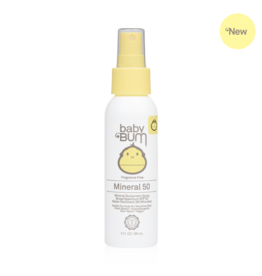 Sun Bum Sun Bum Baby SPF 50 Mineral Spray - Fragrance Free 3 oz