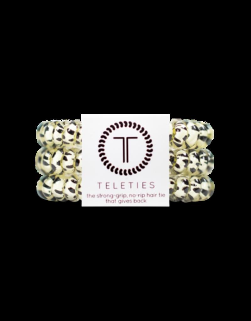Teleties Teleties Snow Leopard 3 Pack - Small