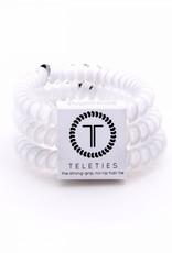 Teleties Teleties Coconut White 3 Pack - Small