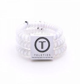 Teleties Teleties Coconut White 3 Pack - Small