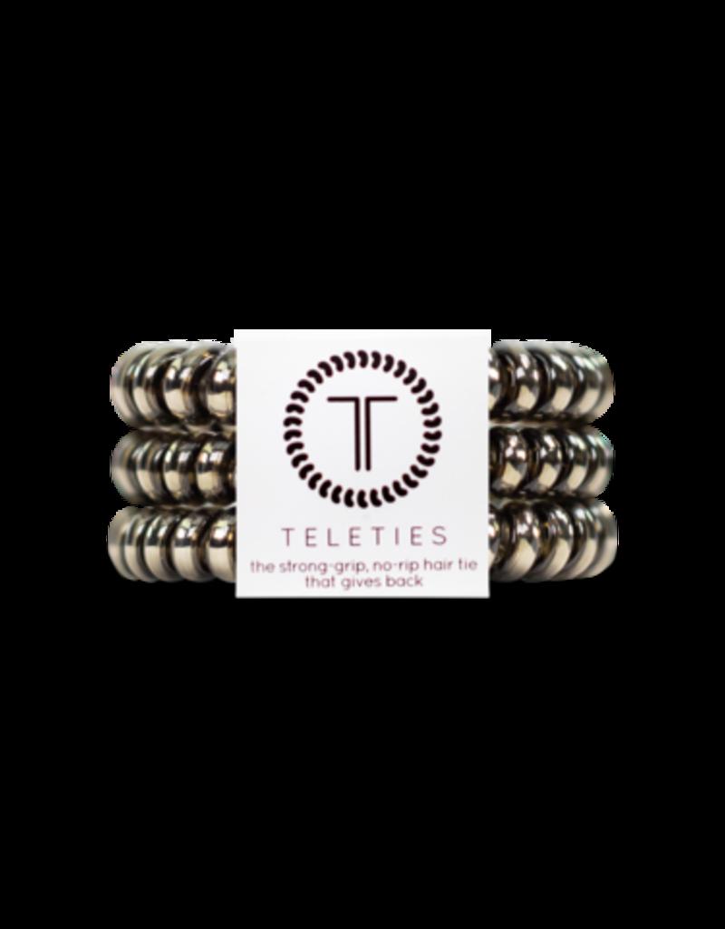 Teleties Teleties Moondust Gunmetal 3 Pack - Small