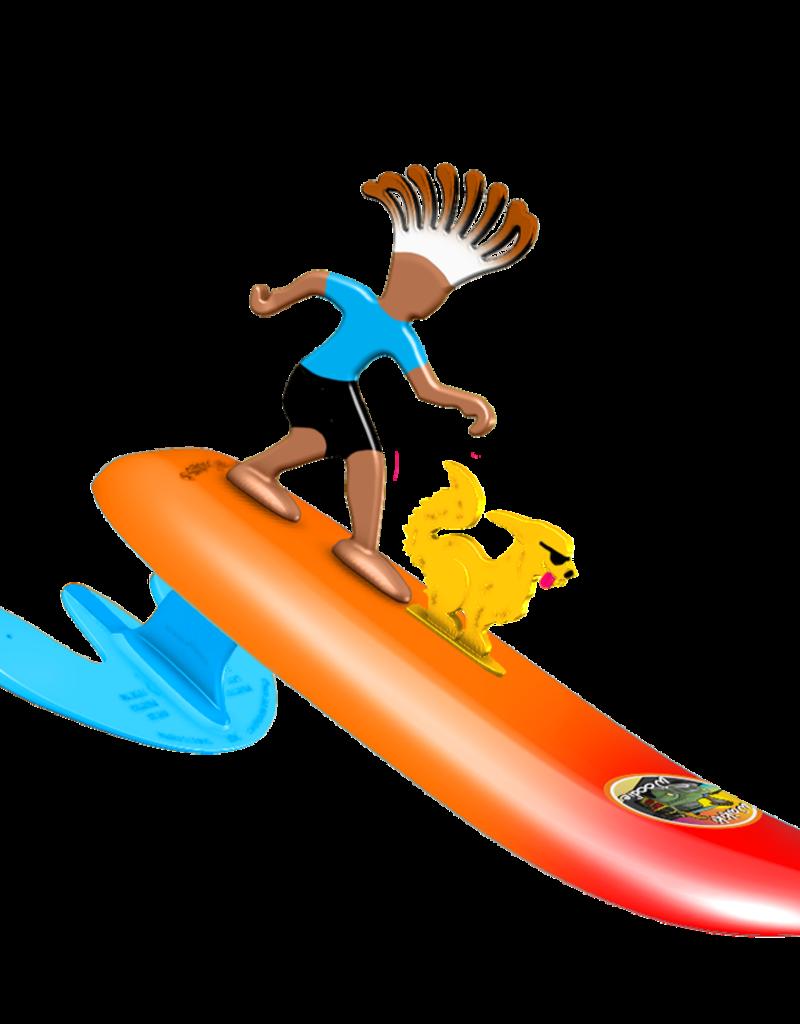 Surfer Dudes Surfer Dudes Legends & Surfer Pets, Waikiki Woodie & Curl