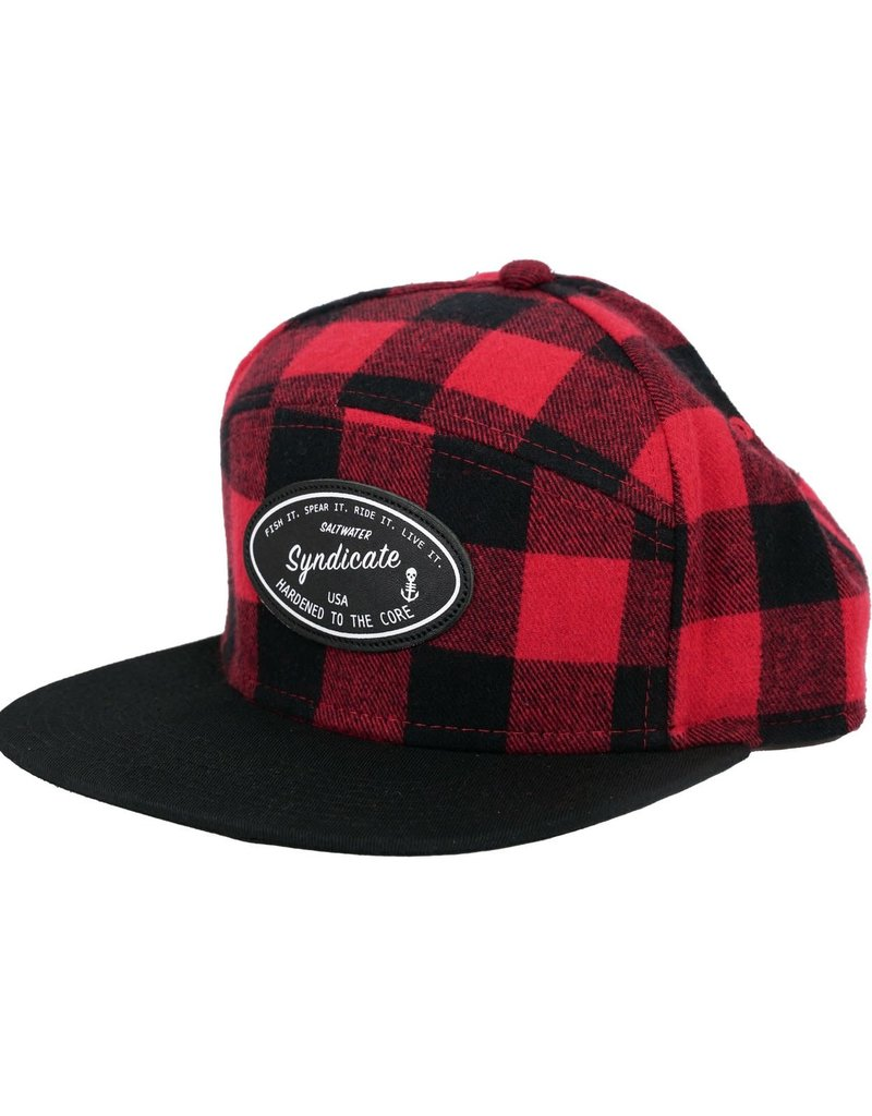 Saltwater Syndicate Saltwater Syndicate Plaid Hat