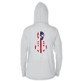 Saltwater Syndicate Saltwater Syndicate USA Flag UPF Performance Hoodie