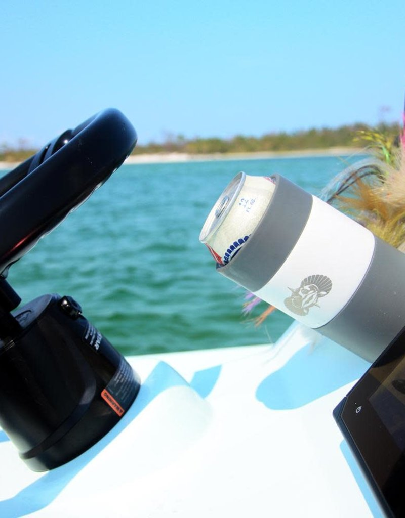 Toadfish Outfitters Toadfish Outfitters Non-Tipping Can Cooler - White