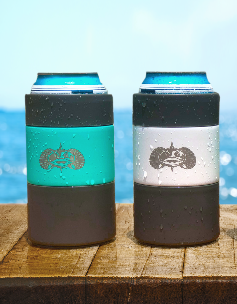 Toadfish Outfitters Toadfish Outfitters Non-Tipping Can Cooler - Teal
