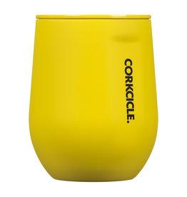 Corkcicle Corkcicle Stemless - 12oz Neon Lights Neon Yellow
