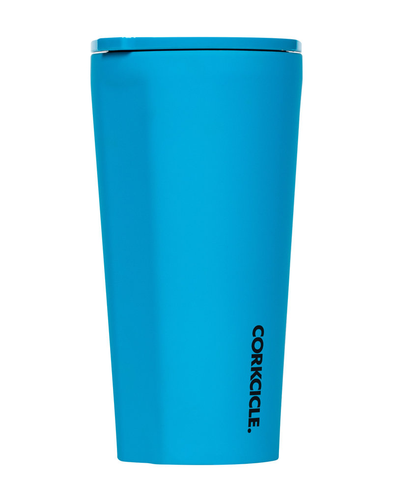 Corkcicle Corkcicle Tumbler - 16oz Neon Lights Neon Blue