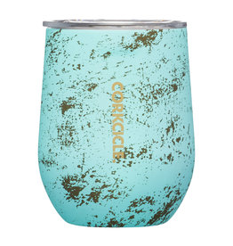 Corkcicle Corkcicle 12oz Stemless Bali Blue