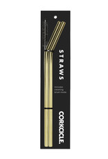 Corkcicle Corkcicle Straws - Gold