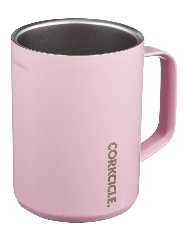 Corkcicle Corkcicle 16oz Mug Rose Quartz