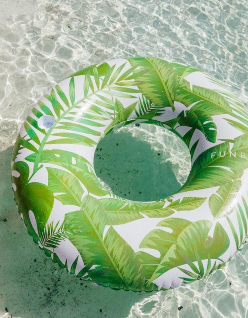 FUNBOY FUNBOY Inflatable Tropical Jungle Tube Float