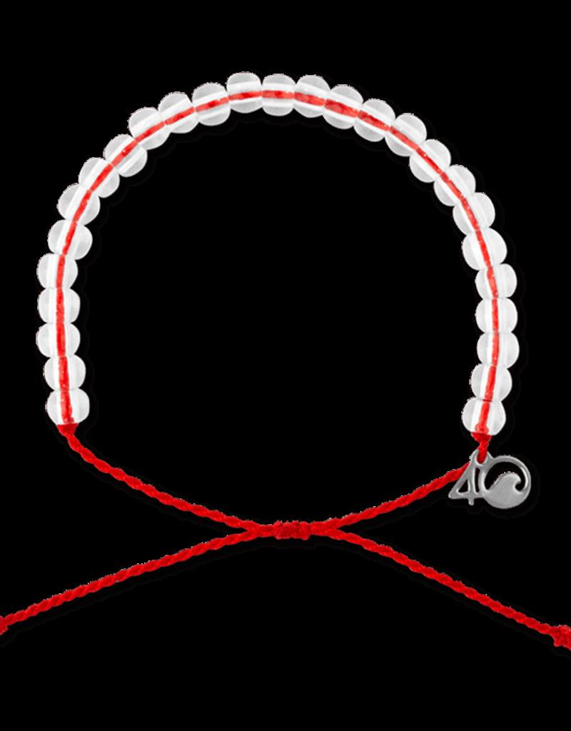 4Ocean 4Ocean Overfishing Bracelet - Red