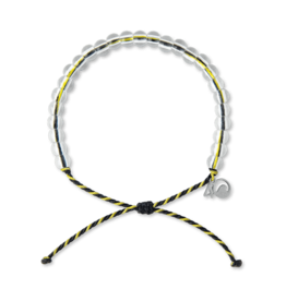 4Ocean 4Ocean Penguin Bracelet - Black/Yellow