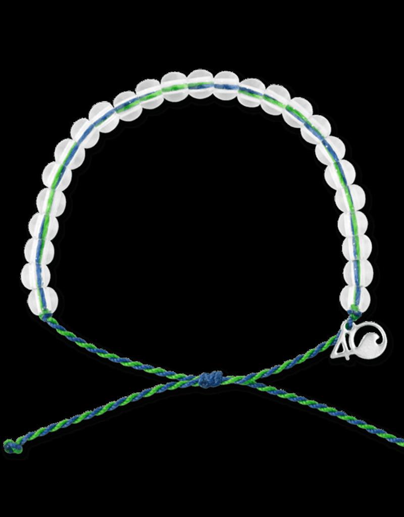 4Ocean 4Ocean Earth Day Bracelet - Green/Blue