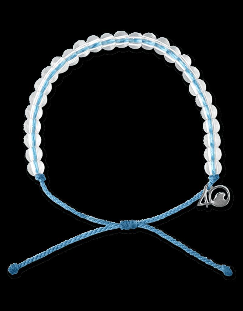 4Ocean 4Ocean Jellyfish Bracelet - Periwinkle Blue