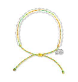 4Ocean 4Ocean Sea Star Bracelet - Green/Yellow/Coral