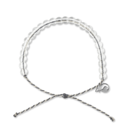 4Ocean 4Ocean Manatee Bracelet - Dark Grey/Light Grey