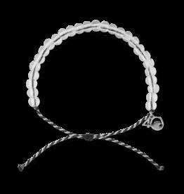 4Ocean 4Ocean Orca Bracelet - Black/White