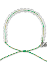 4Ocean 4Ocean Mangroves and Estuaries Bracelet - Emerald/Tan