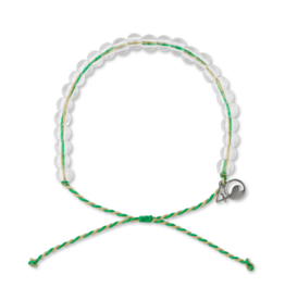 4Ocean 4Ocean Mangroves and Estuaries Bracelet - Emerald/Tan