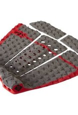 Dakine Dakine John John Florence Pro Surf Traction Pad Carbon/Red