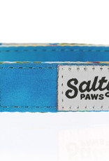 Salty Paws Salty Paws Hawaiian Print Dog Collar Blue