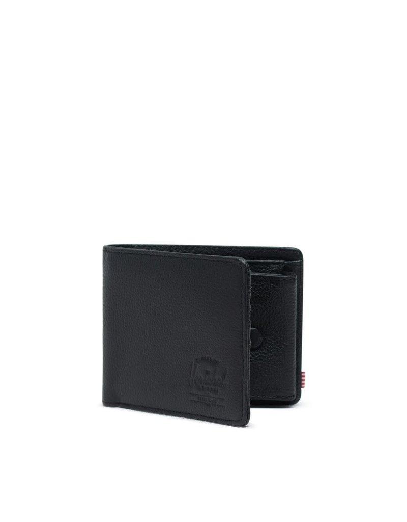 Herschel Herschel Roy Coin Leather Wallet - Black Pebble