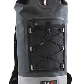 K3 K3 Poseidon 20L Waterproof Dry Bag Backpack Black