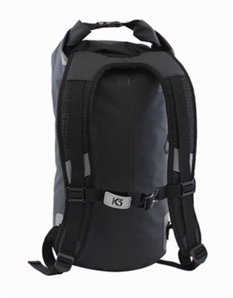 K3 K3 Drifter Limited Edition 20 Liter Waterproof Backpack Black