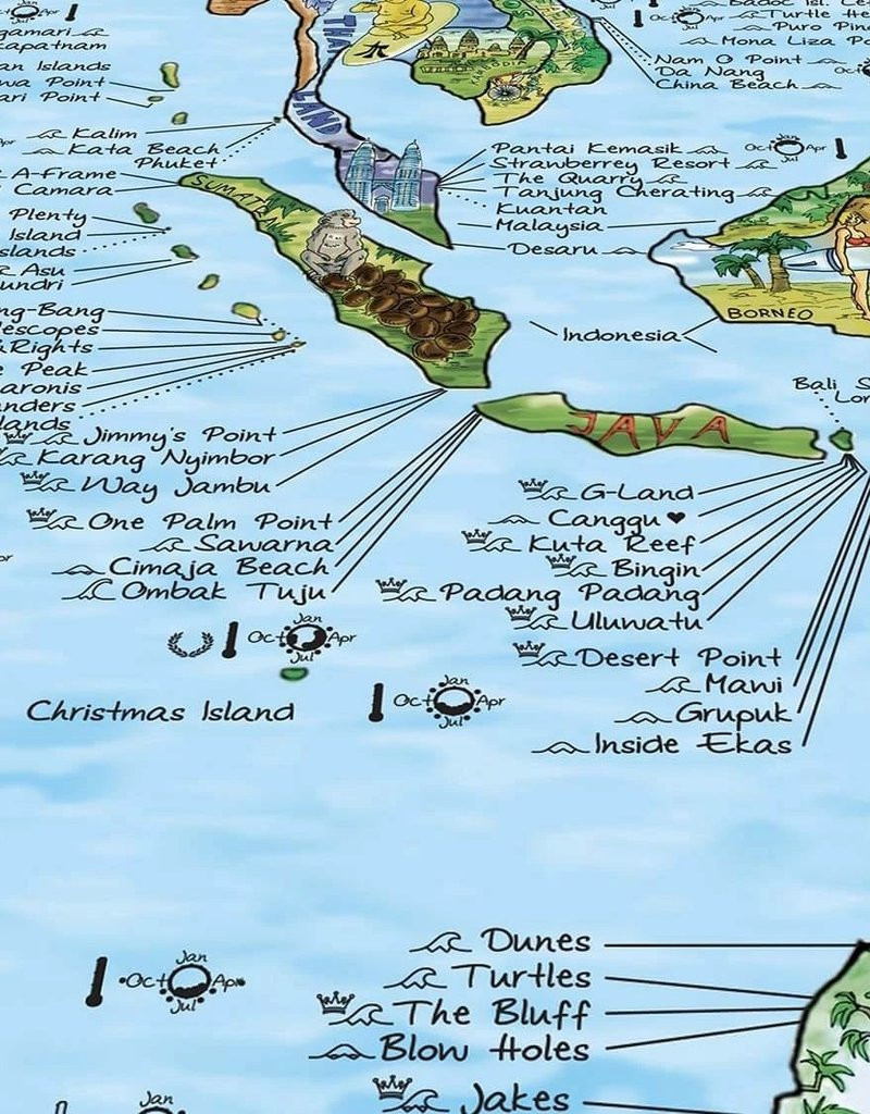 Awesome Maps Surftrip Map