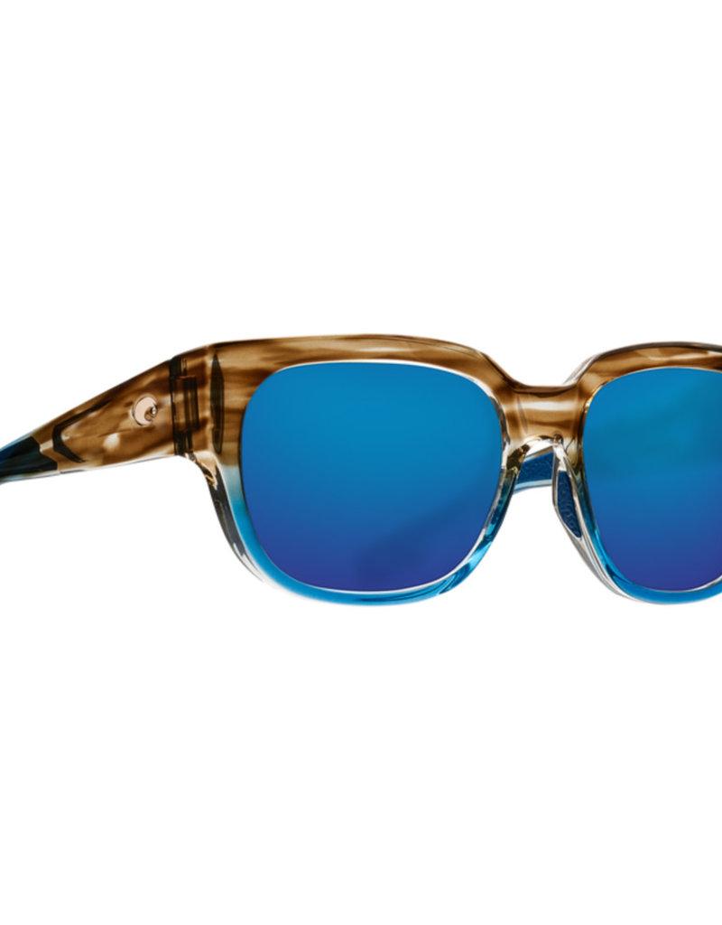 Costa Costa Waterwoman Shiny Wahoo Blue Mirror 580G