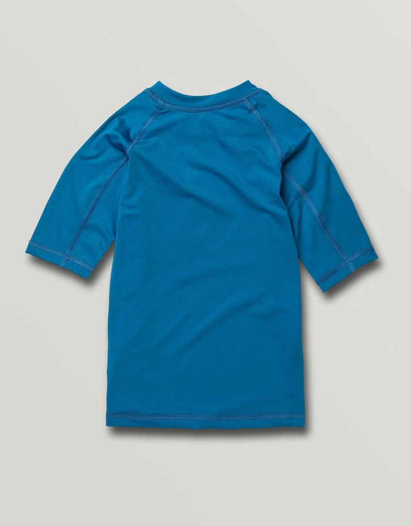 Volcom Volcom Boys Lido Solid Short Sleeve UPF 50 Rashguard