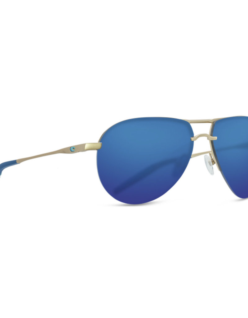 Costa Costa Helo - Matte Champagne + Deep Blue/Turquoise