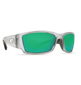Costa Costa Corbina Green Mirror Glass - W580 Silver Frame