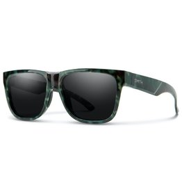 Smith Smith Lowdown 2 Sunglass: Camo Tortoise ChromaPop Polarized Black Lens