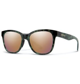 Smith Smith Caper Camo Tortoise ChromaPop Polarized Rose Gold Lens