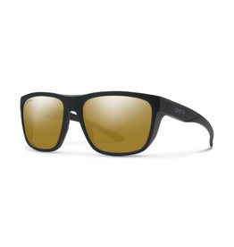 Smith Smith Barra Matte Black ChromaPop Polarized Bronze Mirror Lens