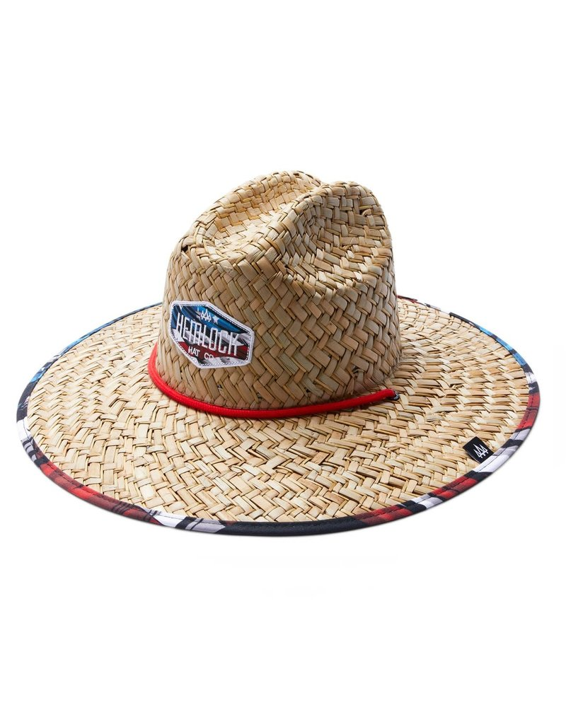Hemlock Hat Company Hemlock Little Maverick Straw Hat
