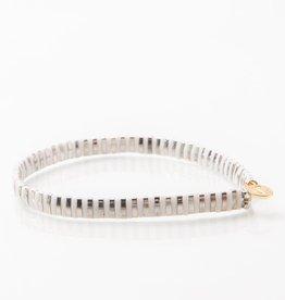 Caryn Lawn Caryn Lawn Supernova Bracelet - Silver/White