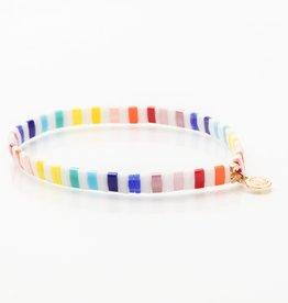 Caryn Lawn Caryn Lawn Supernova Bracelet - Bright Rainbow