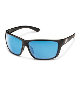 Suncloud Suncloud Councilman Matte Black/Polarized Blue Mirror