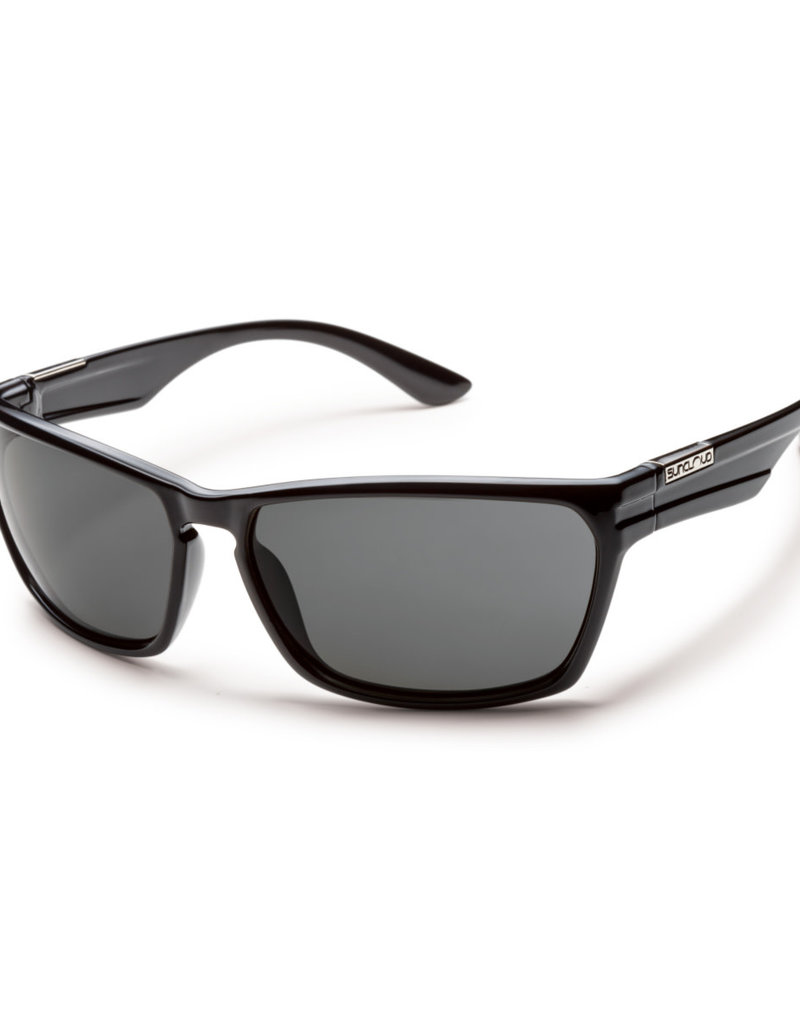 Suncloud Suncloud Cutout Black/Polarized Gray