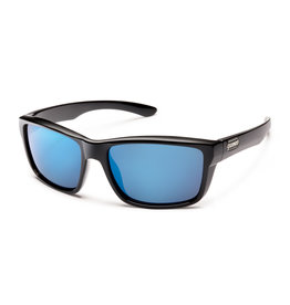 Suncloud Suncloud Mayor Black/Polarized Blue Mirror