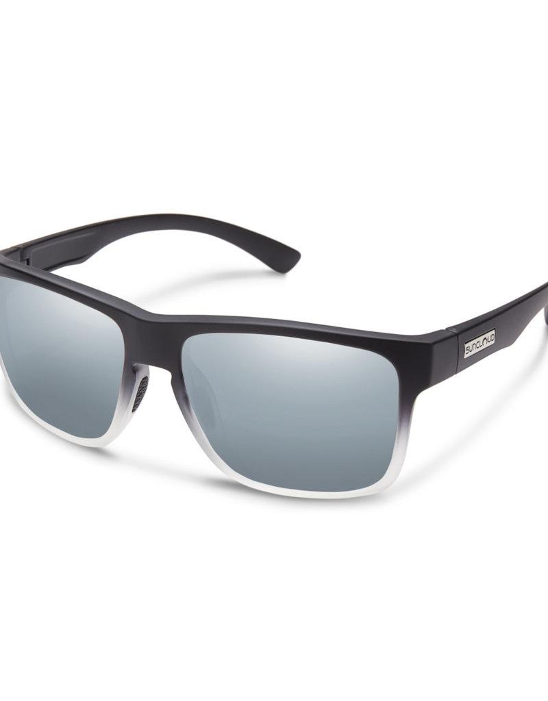 Suncloud Suncloud Rambler Black Gray Fade/Polarized Silver Mirror