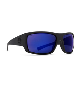 VonZipper VonZipper Suplex Black Satin/Blue Flash Polarized