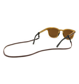 Croakies Croakies Sewn Leather Spec End Brown