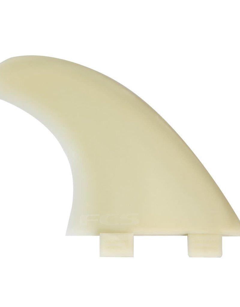 FCS M7 Natural Glass Flex Tri Fin