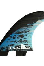 FCS FCS II MB PC Carbon Blue Large Tri-Quad